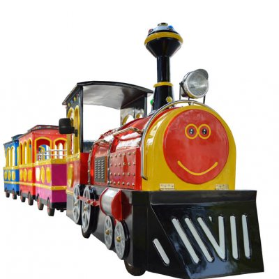 Traditional Trackless Train